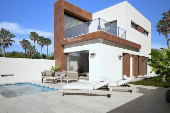 Villa - New Build - GUARDAMAR - El Raso